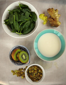 Gröna smoothies recept